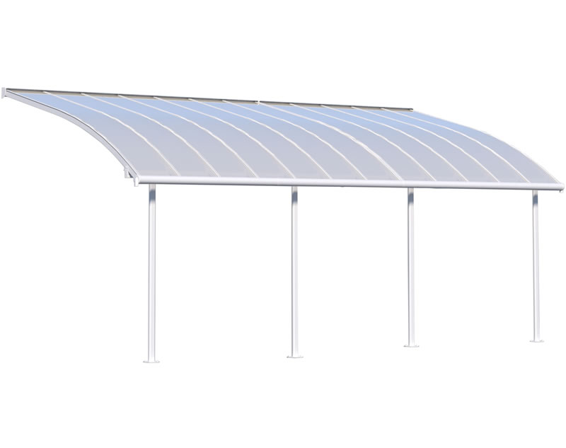 Palram 10x24 Joya Patio Cover Kit - White