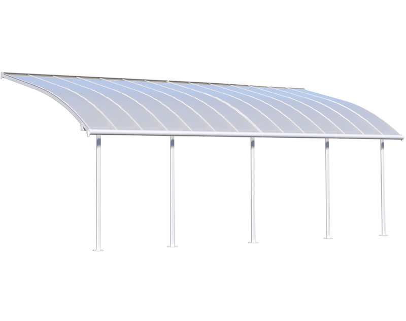Palram 10x28 Joya Patio Cover Kit - White