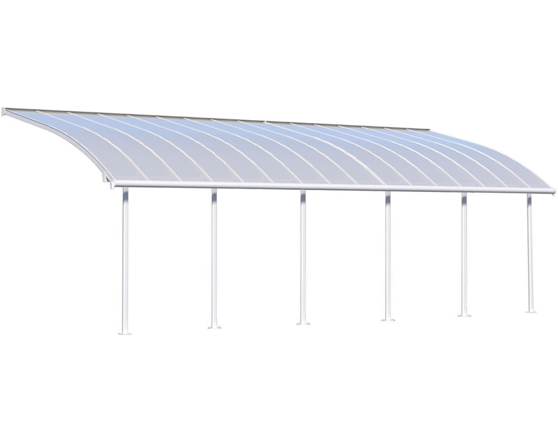 Palram 10x30 Joya Patio Cover Kit - White