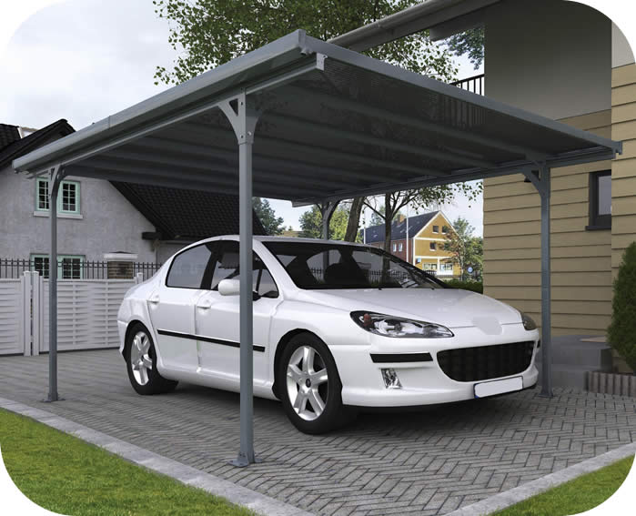 Palram 16x10 Verona 5000 Metal Carport Kit