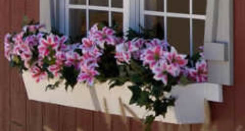 Optional Flower Boxes