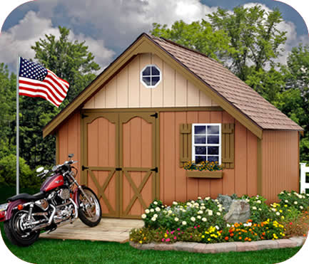 8x10 barn shed