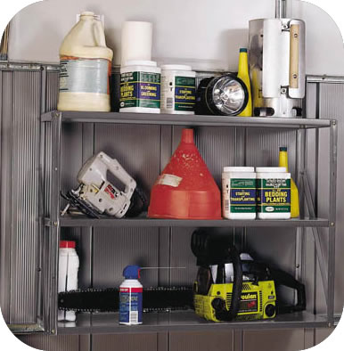 Arrow Storage Sheds Metal Shelf Unit