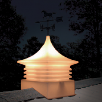 Shed Cupola Lighting Option