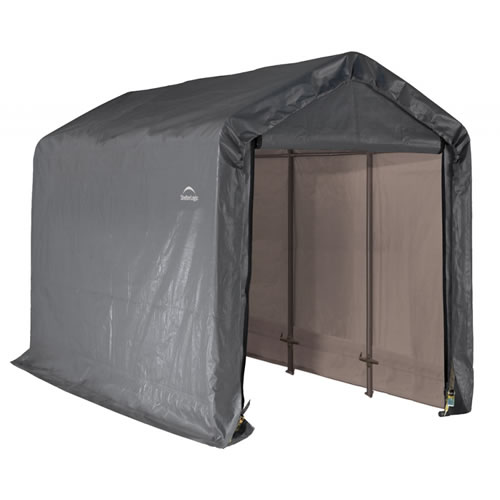 ShelterLogic 6x12x8 Shed-In-A-Box Fabric Shed Kit