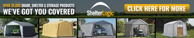 ShelterLogic Sheds On Sale with Free Shipping!