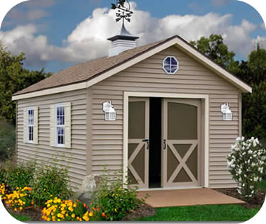 Best Barns South Dakota 12x24 Vinyl Siding Wood Shed Kit