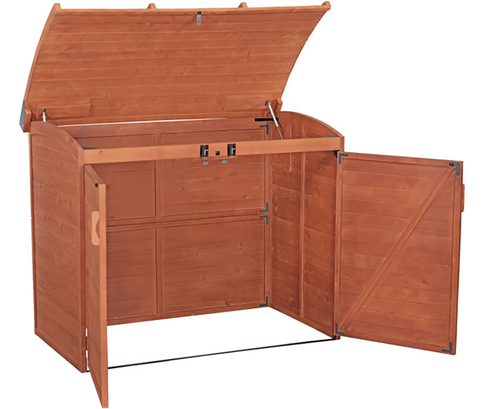 Leisure Garbage Can Storage Shed / Trash Recycling Center (TRC1001)