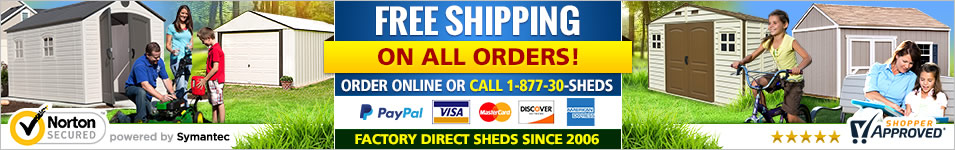 Storage Sheds Direct - ShedsForLessDirect.com