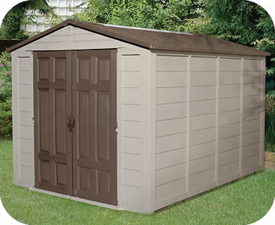 Suncast sheds resin storage shed kits for Resin garden shed