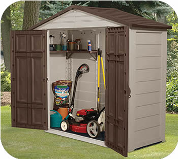 8x3 resin plastic storage shed w floor our 8x3 resin storage sheds are