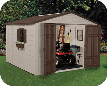 Lovely Suncast Sheds   Resin Storage Shed Kits