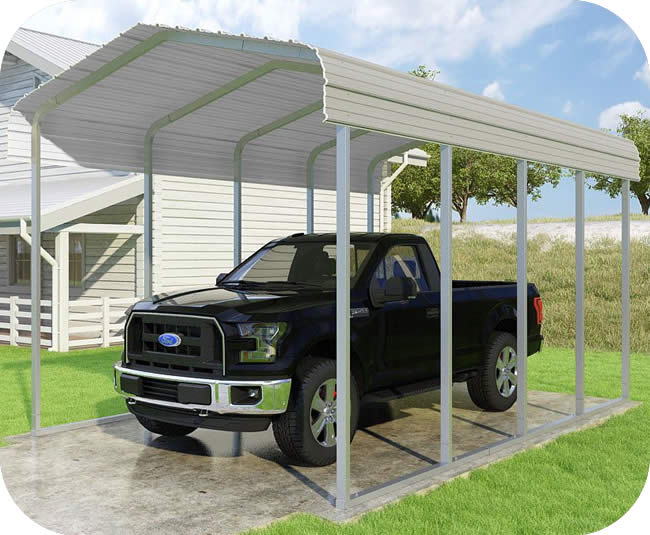 VersaTube 12x20x10 Classic Steel Carport Kit