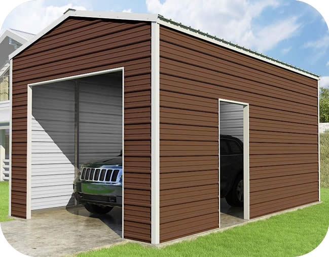 Versatube 12x20x10 Frontier Steel Garage Kit Fb0122010519