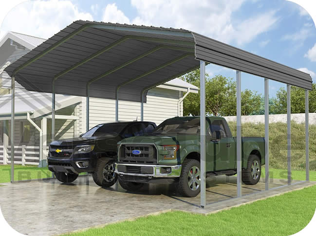VersaTube 20x20x10 Classic Steel Carport Kit