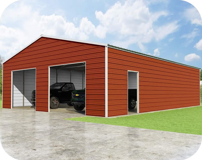 VersaTube 30x40x10 Frontier Steel Garage Kit