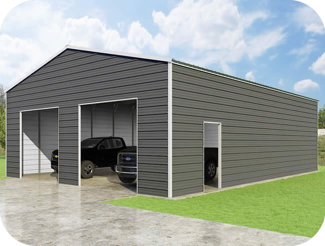 VersaTube 30x40x12 Frontier Steel Garage Kit