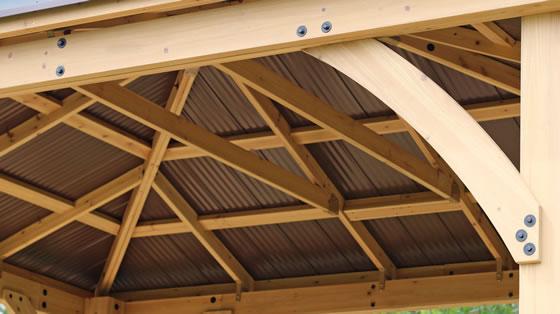 Sturdy Wood Truss System!