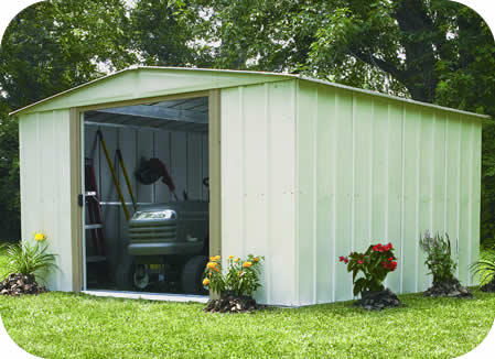 Arrow 10x13 Spacemaker Steel Storage Shed Kit
