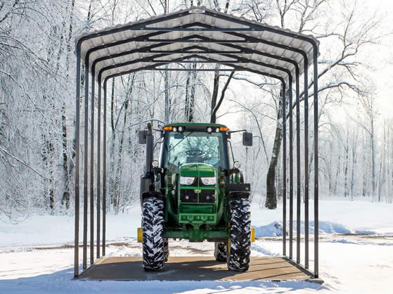 Excellent for parking RV's or large Tractors!