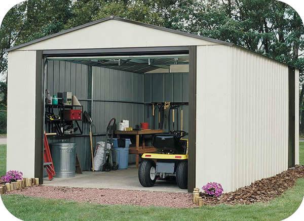Arrow Vinyl Murryhill 14x21 Shed
