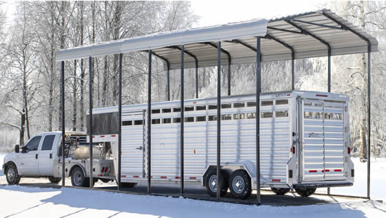 Also Great For Horse Trailer Storage!