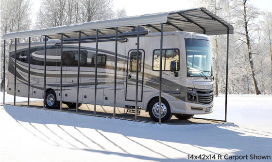 Protect Your RV From Hail Damage!