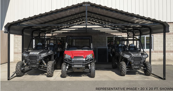 Park and store all your atv's, utv's, motorcycles and more!