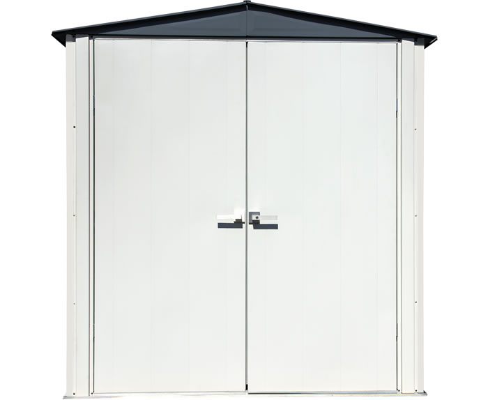 Arrow 6x3 Spacemaker Patio Shed Kit - Gray
