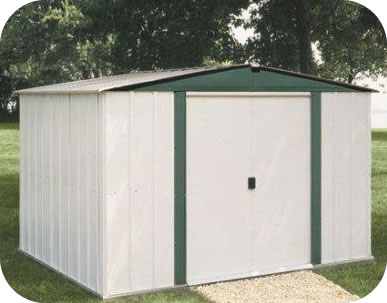 Arrow 6x5 Euro Hamlet Metal Storage Shed Kit