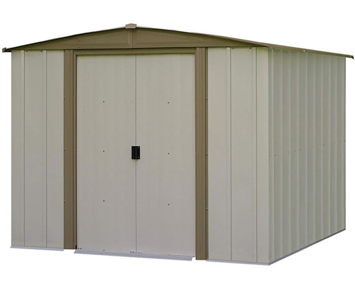 Arrow 8x8 Bedford Metal Storage Shed Kit