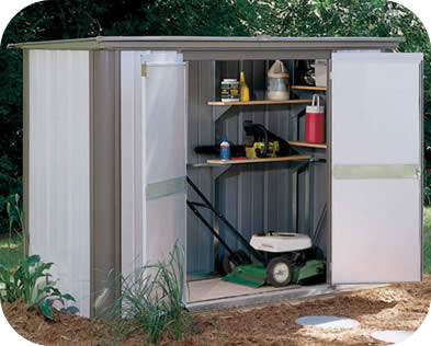Ezee Locker 8x3 Arrow Storage Shed