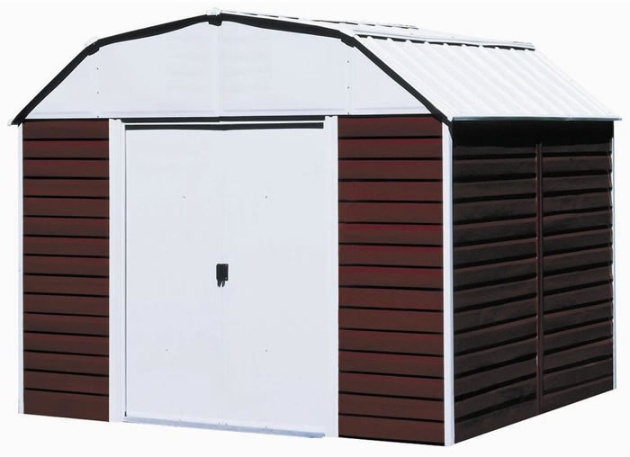 Red Barn 10x8 Arrow Storage Shed Kit