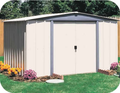 Vinyl Northfield 8x6 Arrow Storage Shed