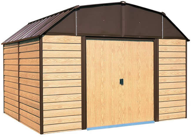 woodhaven 10x14 arrow storage shed - Garden Sheds Wooden