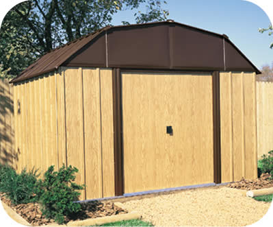 Woodview 10x8 Arrow Storage Shed