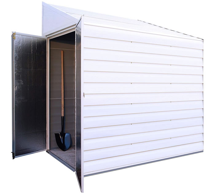 yardsaver 4x7 arrow storage shed - Garden Sheds Small