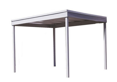 Arrow 10x10 Free Standing Steel Carport Kit