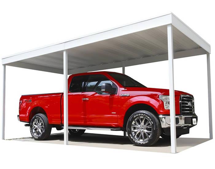 arrow 10x20 free standing metal carport kit cp1020. Black Bedroom Furniture Sets. Home Design Ideas