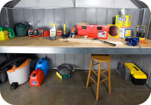 Arrow Storage Sheds Attic Or Workbench Kit