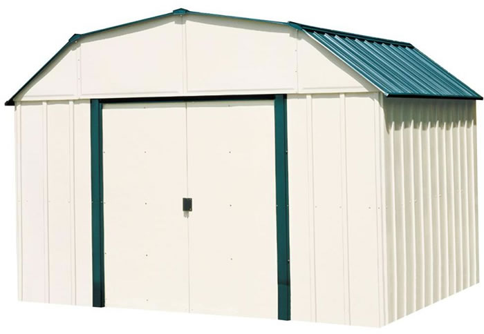 Vinyl Sheridan 10x14 Arrow Storage Shed & Vinyl Sheds - PVC u0026 Coated Steel Storage Shed Kits
