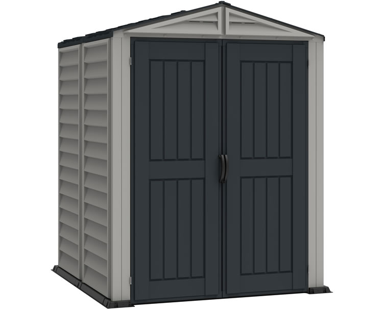 DuraMax 5x5 YardMate Plus Vinyl Shed w/ Floor