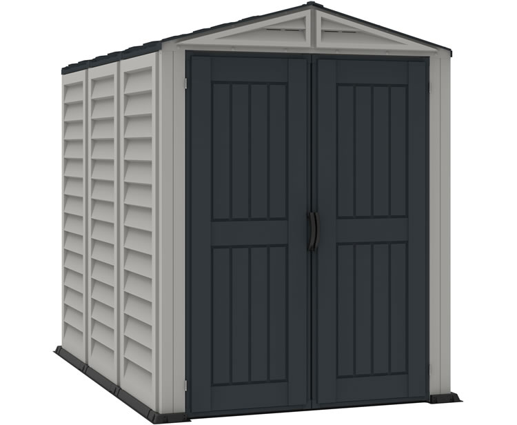 DuraMax 5x8 YardMate Plus Vinyl Shed w/ Floor