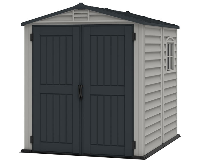 DuraMax StoreMate Plus 6x6 Vinyl Shed Kit w/ Floor