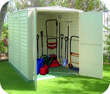Arrow 8x3 Metal Garden Storage Shed Kit (GS83)