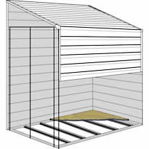 Arrow Yardsaver Storage Sheds Floor Kit 4x7 or 4x10