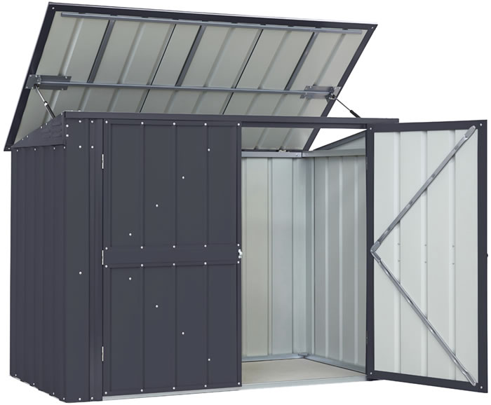Globel 5x3 Bin Storage Locker - Anthracite Gray