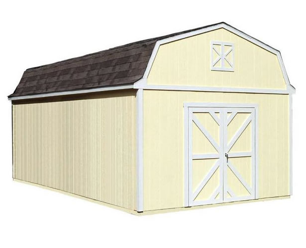 Handy Home Sequoia 12x24 Wood Storage Shed Kit