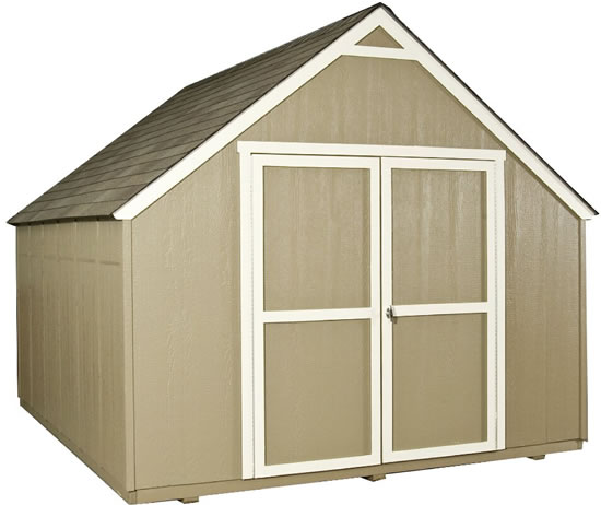 Handy Home Marco 10x12 Gable Shed Kit w/ Floor
