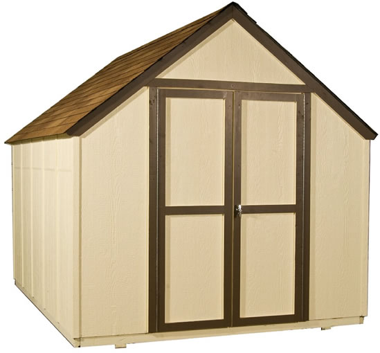 Handy Home Marco 8x10 Gable Shed Kit w/ Floor